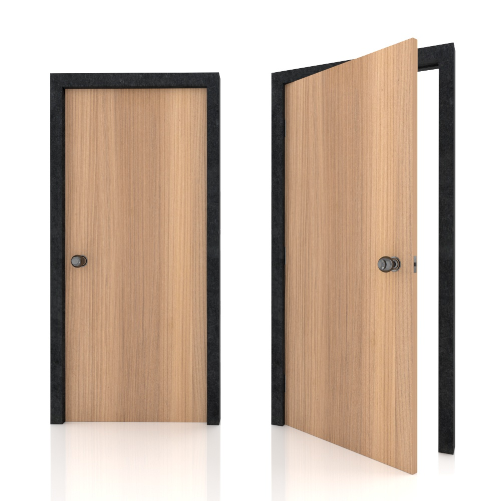 Bedroom_Bed room door_Green Label_Special Woodgrain BJ3