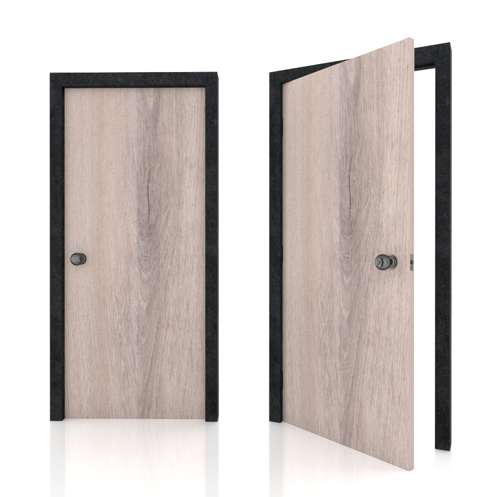 Bedroom_Bed room door_Green Label_Standard Woodgrain AU7